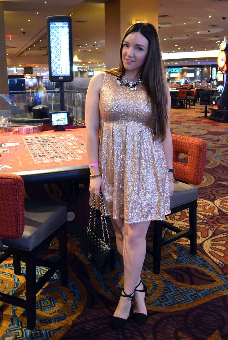 Wear to what night out in vegas fotos