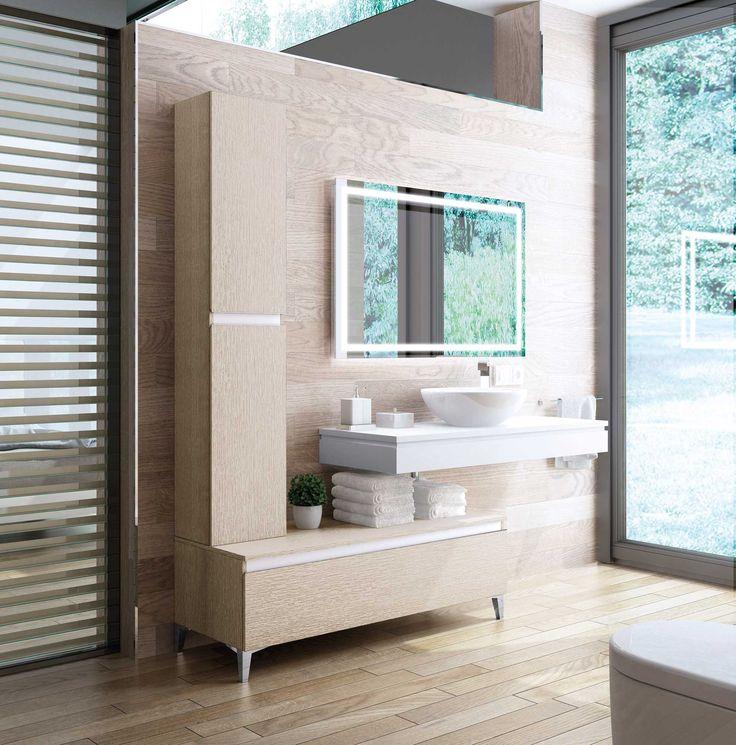 Muebles de baño de diseño moderno y contemporáneo. Muebles de baño fabricados para proyectos a medida . Fabricaciones especiales en medidas y materiales. Muebles de baño compactos o modulares. Lavabos y encimeras en materiales y diseños diversos. #baños #mueblesdebaño