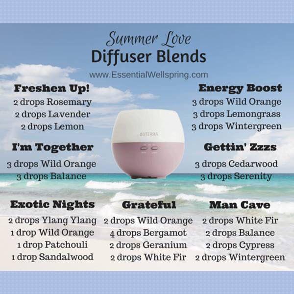 Summer Love Diffuser Blends