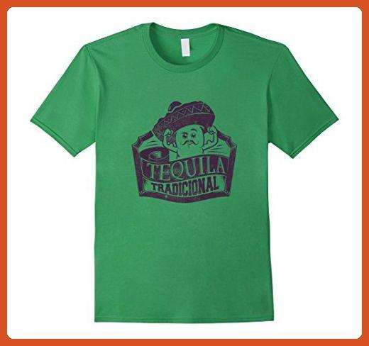 Mens Funny Tequila Mexico Lover Fiesta Mezcal Alcohol  T Shirt XL Grass - Funny shirts (*Partner-Link)
