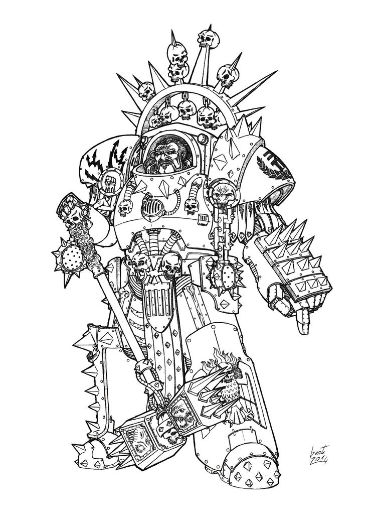 14 best Warhammer 40k Coloring images on Pinterest