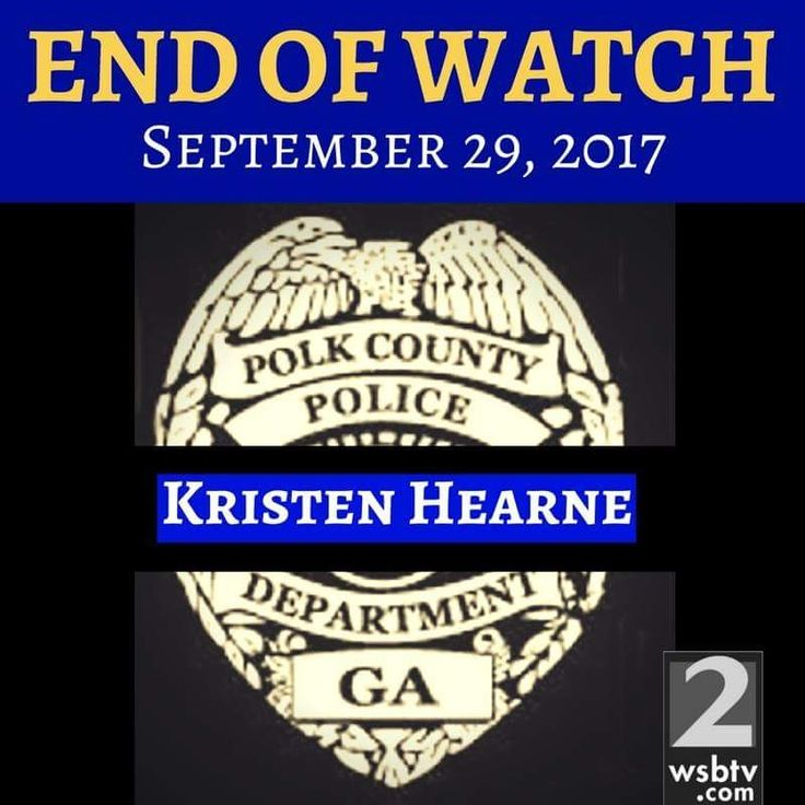 JUST IN: Polk County police officer shot and killed today identified as Det. Kristen Hearne, a 29-year-old mother who leaves behind a 3-year-old son. Our thoughts are with her family and her department.