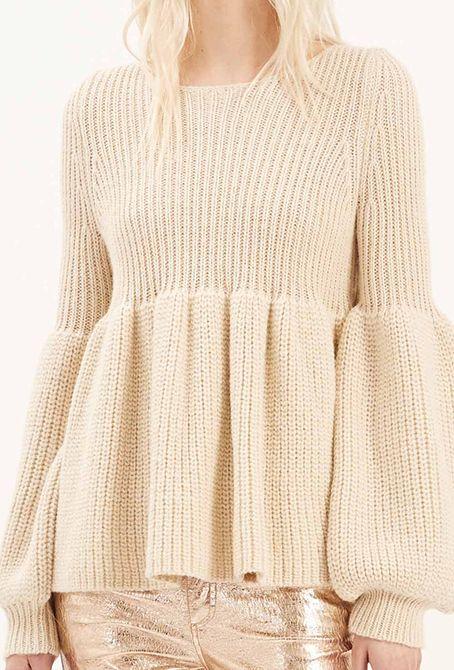 Jersey crudo fruncido - 235,00€ : Zaitegui - Moda y ropa de marca para señora en Encartaciones