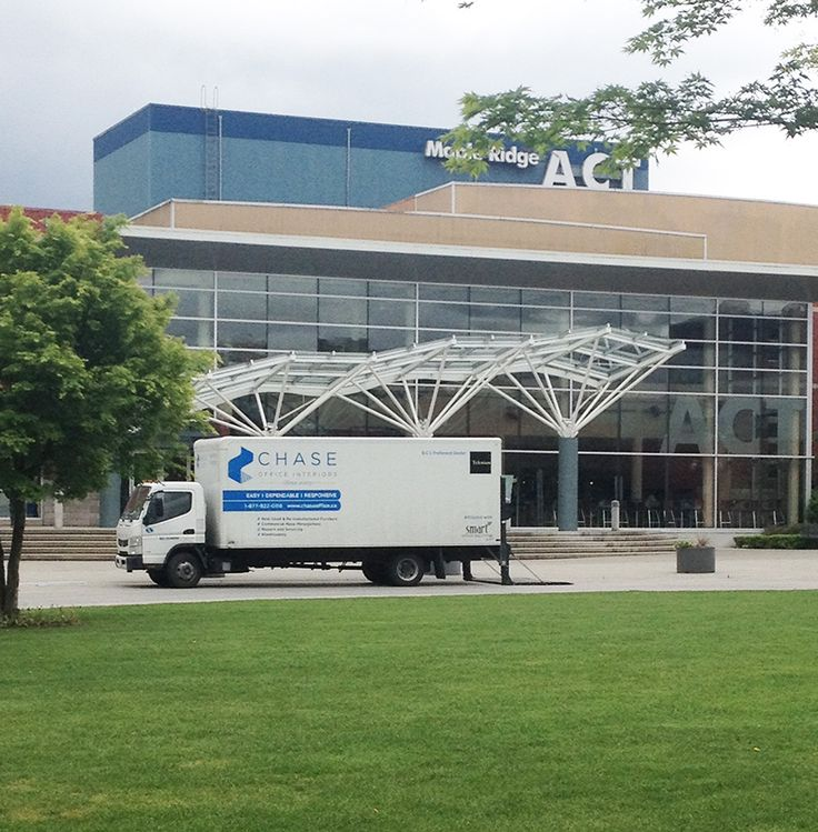 Chase truck spotting yesterday outside the Maple Ridge ACT!