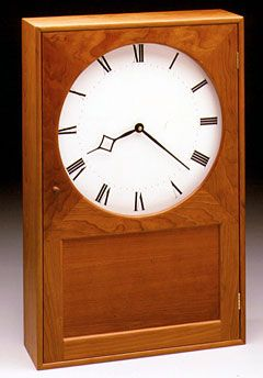 Shaker Wall Clock From Shaker Workshops   Can Be Ordered Completely  Finished Or As A Kit.