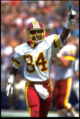 Gary Clark.... Washington Redskins Players all-time   rick stewart getty images