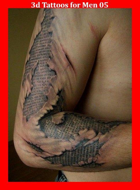 3d Tattoos for Men 05