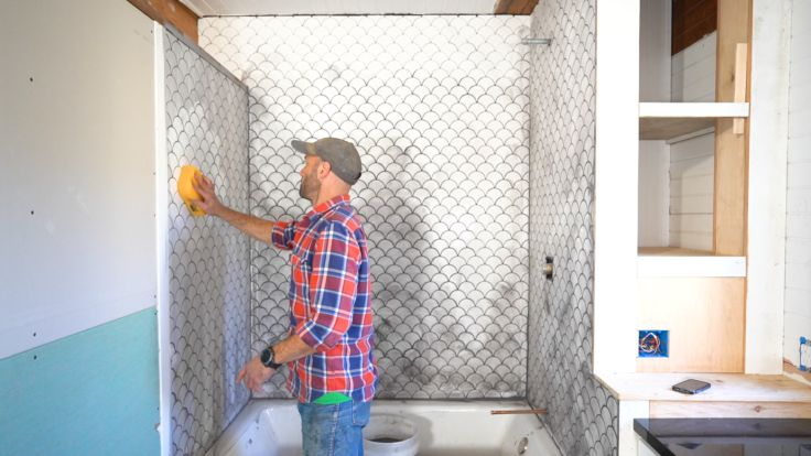Diy Tutorial How To Install A Tiled Shower Surround The Grit And Polish Shower Surround Tile Projects Shower Tile
