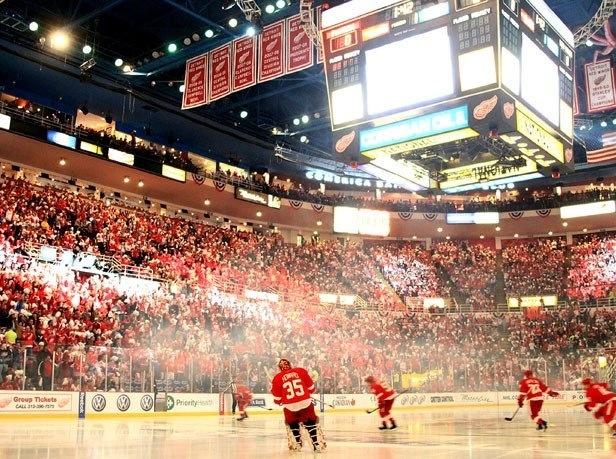 Hockeytown... #NHL #RedWings