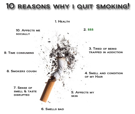 10 Reasons why I quit smoking! | Recovery | Pinterest | I ...