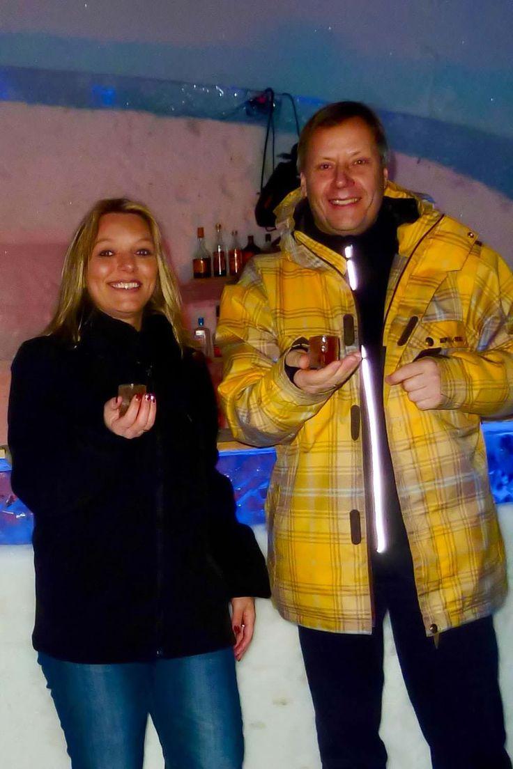 Overnachten in een ijshotel #Icehotel #Lapland