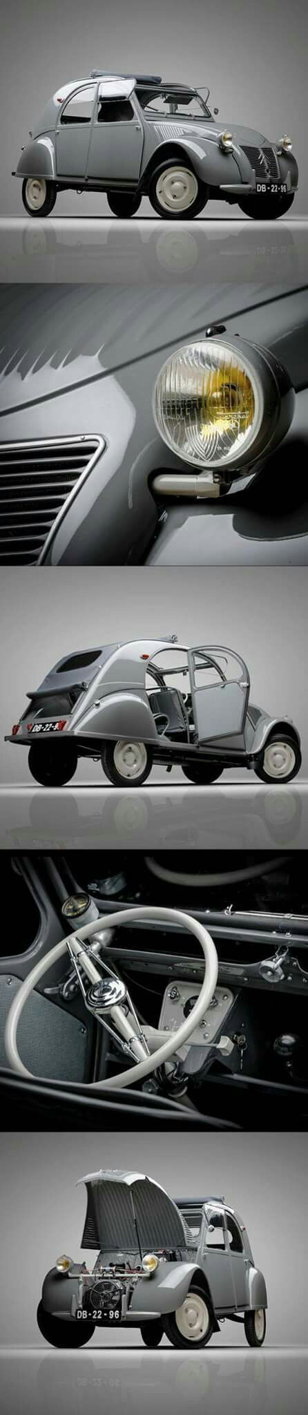 Cool Peugeot 2017 - Citroën 2cv 1948... Check more at http://24car.ga/my-desires/peugeot-2017-citroen-2cv-1948/