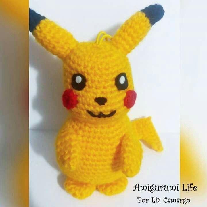 Pikachu Amigirumi #Pikachu #pokémon #amigurumilife