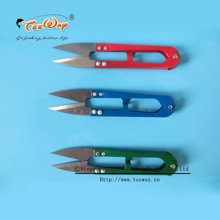 fishing tackle boxes 3pcs/lot fishing lure use Pliers small Curved Nose Fishing Tackle Cut Line Fish