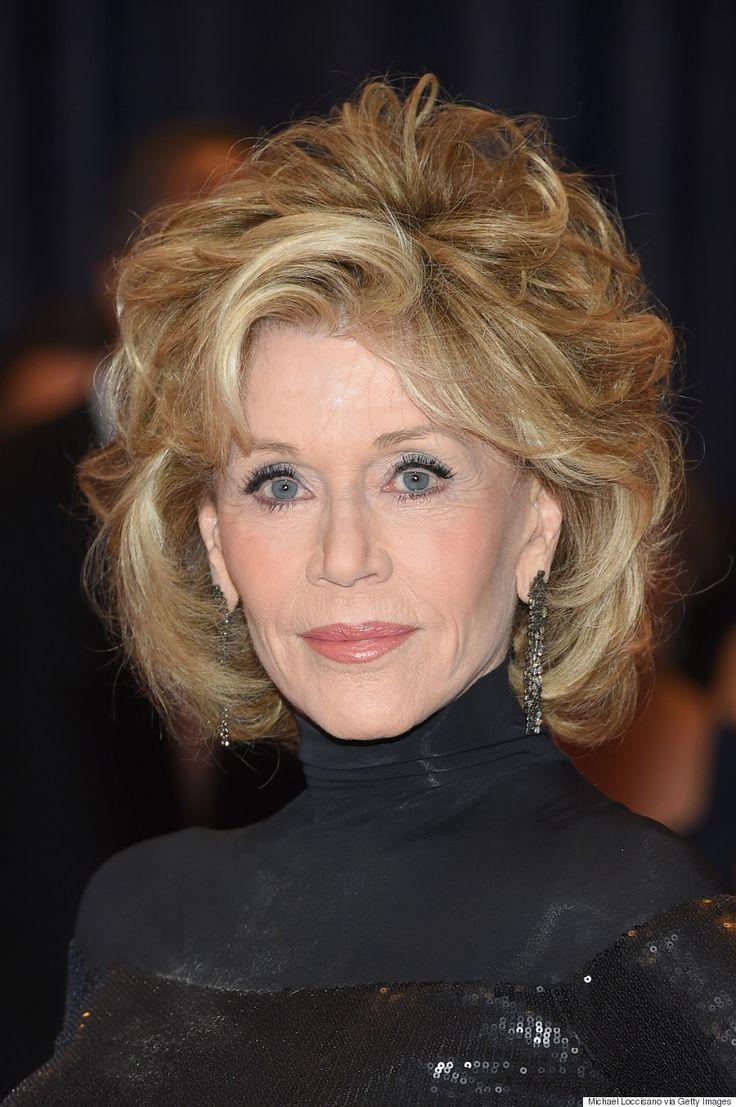Lisa ann before plastic surgery short hairstyle 2013 - Jane Fonda Stuns In Slinky Black Dress At White House Correspondents Association Dinner Jane Fonda Hairstylesshort