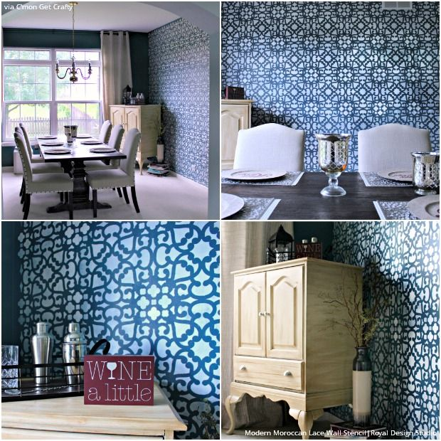 Contemporary Vs Modern Interior Design Ideas: 187 Best Images About Modern Wall Stencils On Pinterest