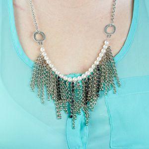 fringe chain diy necklace jewelry style eureka crystal beads
