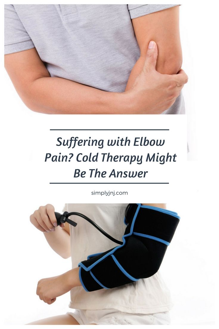 Suffering from constant elbow pain? Or maybe you are recovering from post-elbow surgery? Discover how cold therapy can help and get some relief today.
