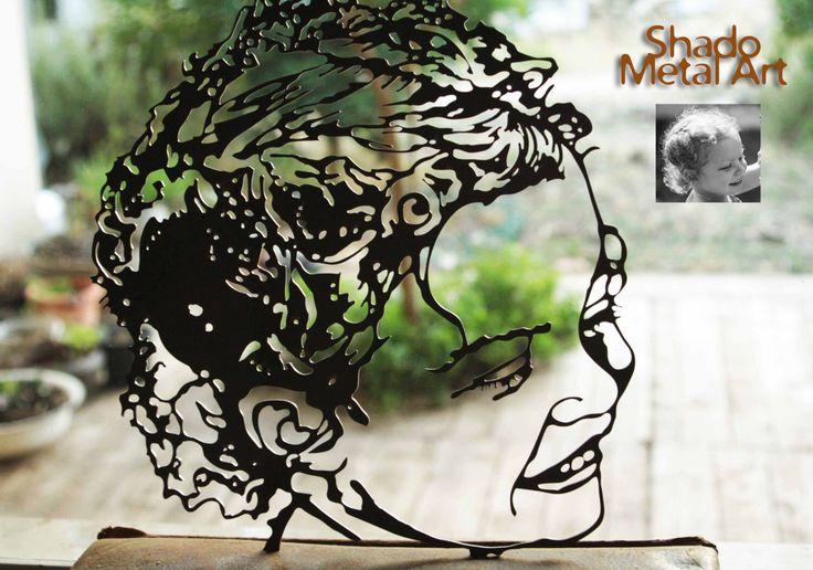 personalized housewarming gift | personalized house warming gift | custom child portrait | custom metal wall art decor | custom metal art by ShadoArt on Etsy https://www.etsy.com/listing/456956418/personalized-housewarming-gift