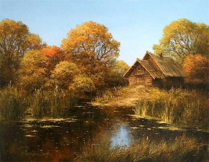 Прекрасные пейзажи от Михаила Иваненко...-