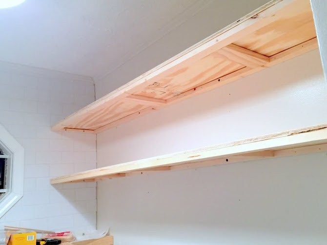 Finally! How to Create Long, Deep Shelves that Aren't Bulky