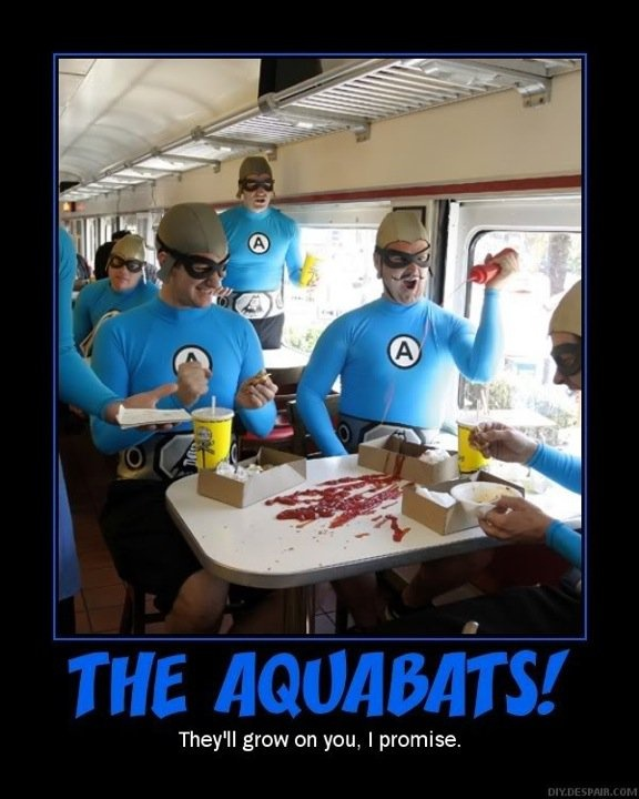 The Aquabats Super Show! On Netflix. My life is complete.