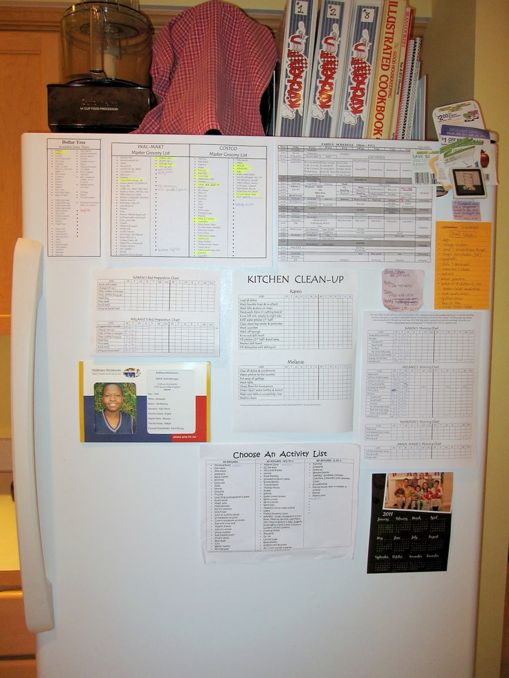 Large Family Charts & Lists  | Large Families on Purpose