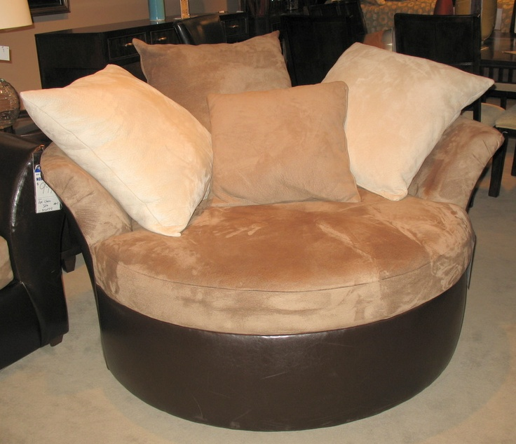 Modern Oversized Leather Chair