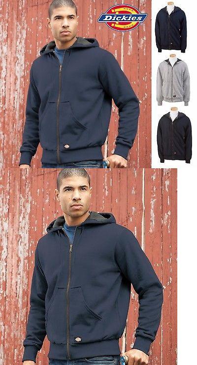 605686c8f Hoodies and Sweatshirts 155183: Tw382 Dickies Mens Thermal Lined Hooded  Fleece Jacket Work Hoodie 382 New!!! -> BUY IT NOW ONLY: $54.89 on #eBay # hoodies ...