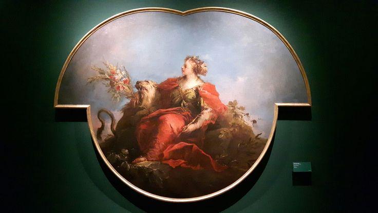 Antonio Guardi (Vienna 1699-Venezia1760). Figura  allegorica. Collezione Cini
