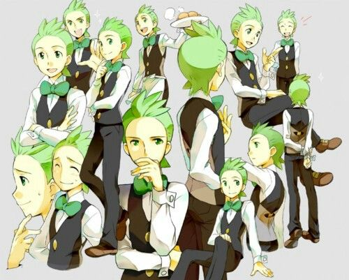 Cilan! He's a great character and it was really fun having him around. :)