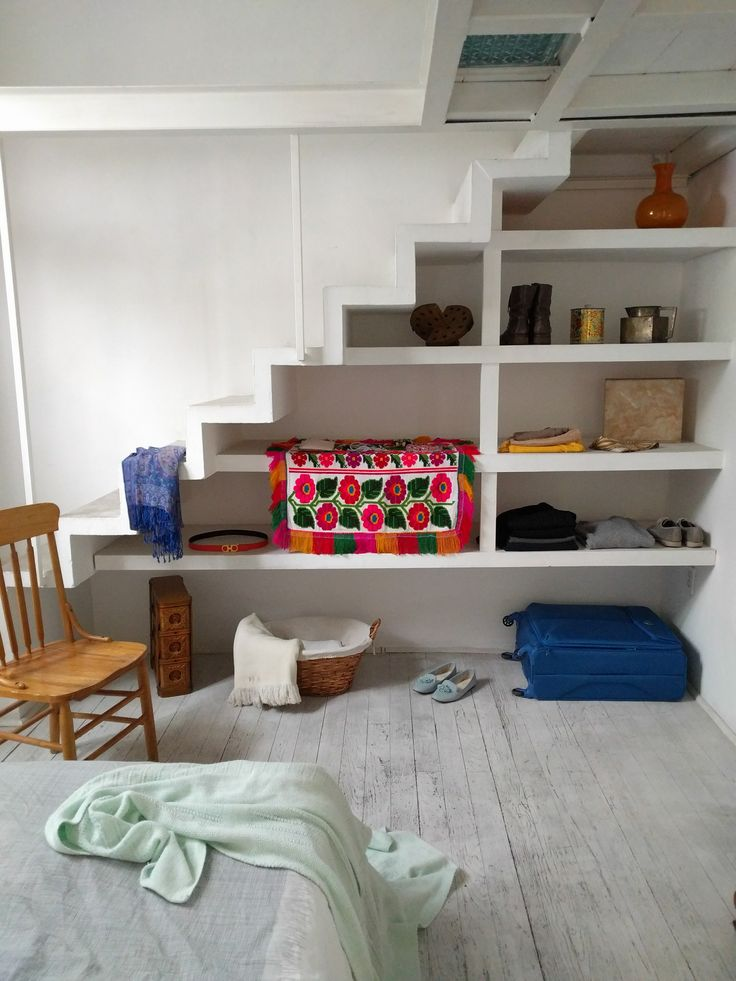 Mexico City AirBnB | Bedroom Closet | Post: This is Mexico City's Most Charming House | The Good Hacienda | by Hilary