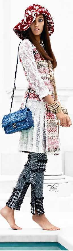 Chanel Cruise 2015 ● Joan Smalls ~ Tнεα