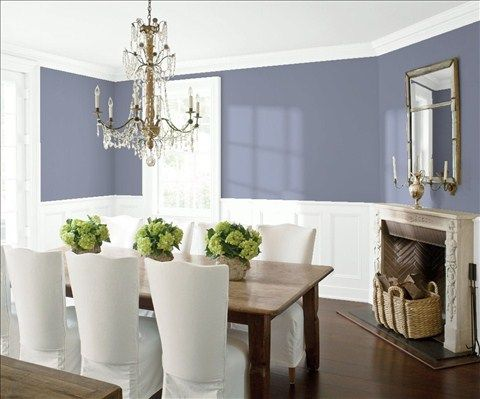 7 besten Dinning Room Bilder auf Pinterest Lila esszimmer - Wandgestaltung Wohnzimmer Grau Lila