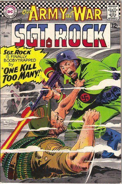 Our Army At War Comic Book #174, DC Comics 1966 FINE+ • $36.99 - PicClick