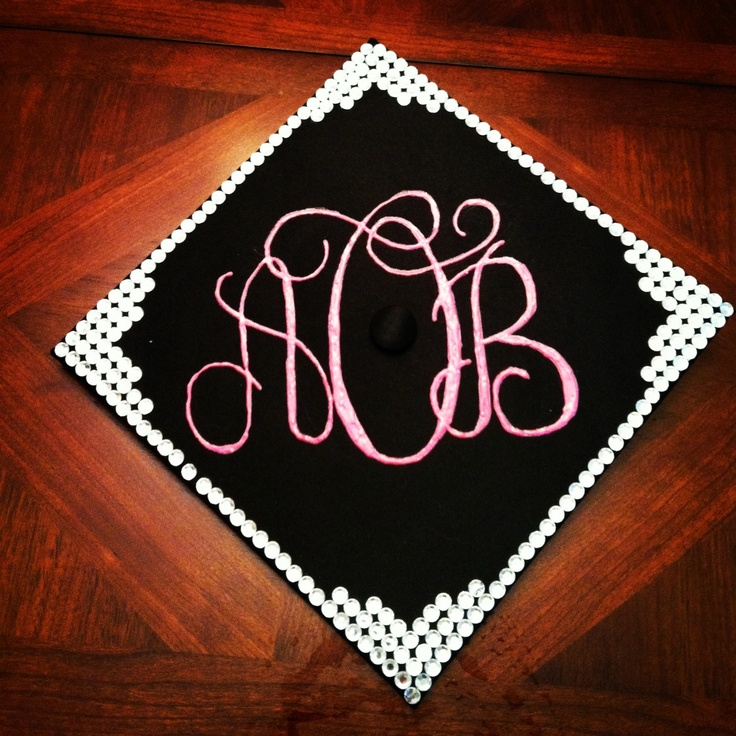Graduation cap diy random pinterest graduation the for Accounting graduation cap decoration