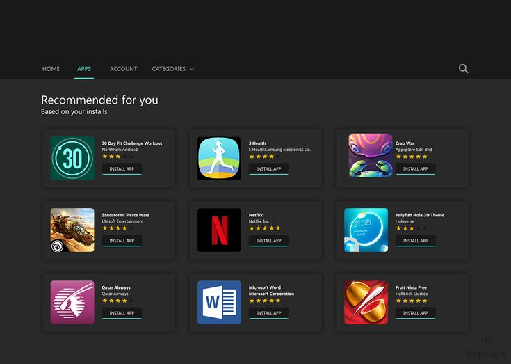 Curated for you UI Design on Behance