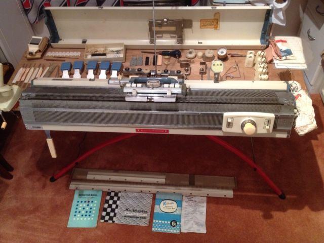 Knitting Machine Programmable : Best vintage knitmaster empisal studio sliver reed
