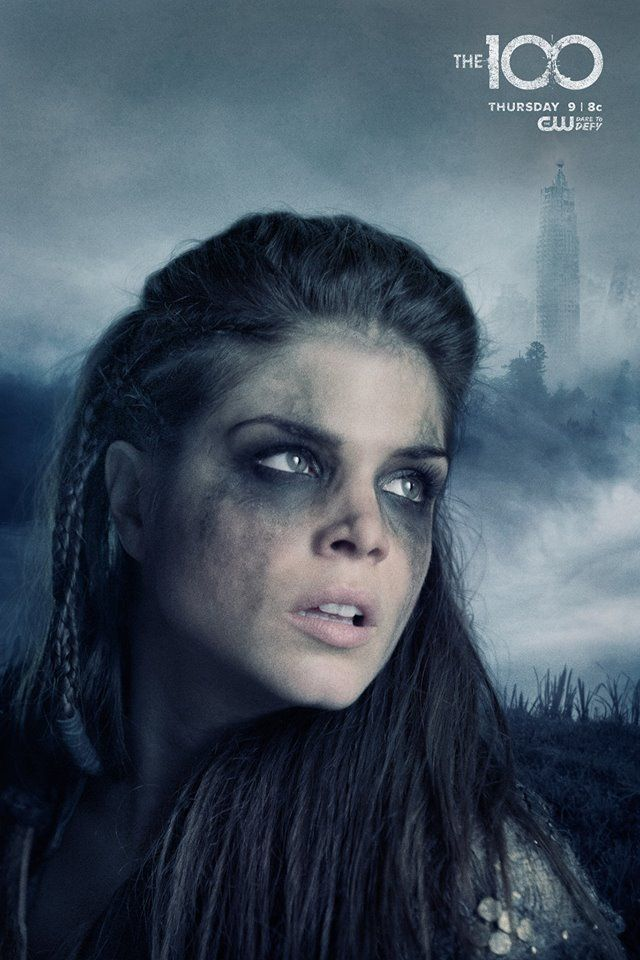 Marie Avgeropoulos as (Octavia) #The100 #best character