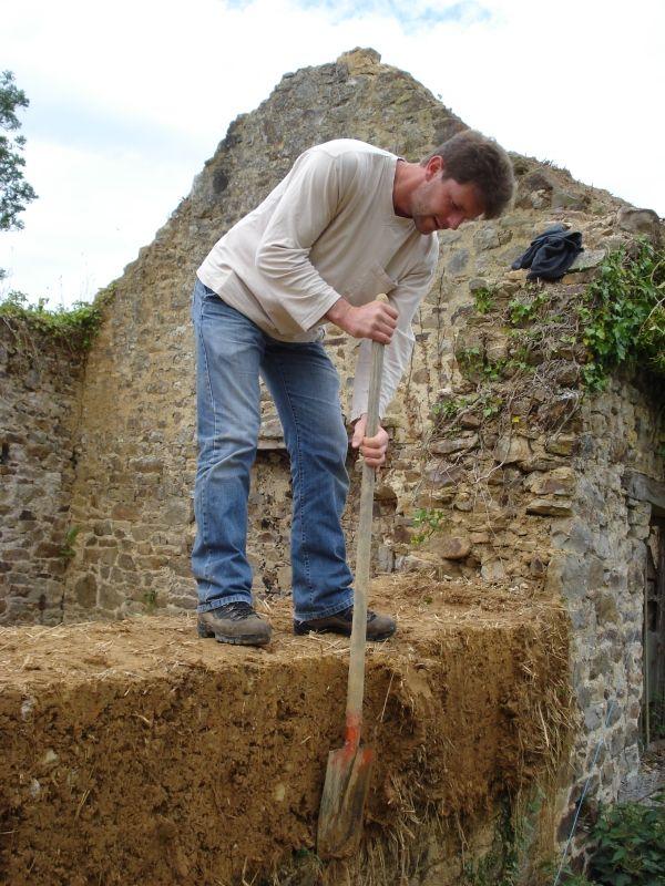 70 best Construire des murs en terre - Cob wall mud construction