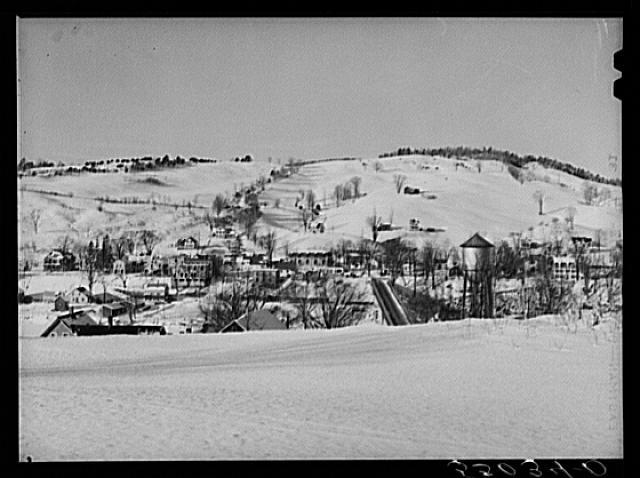 West Hartford, Vermont, on White River