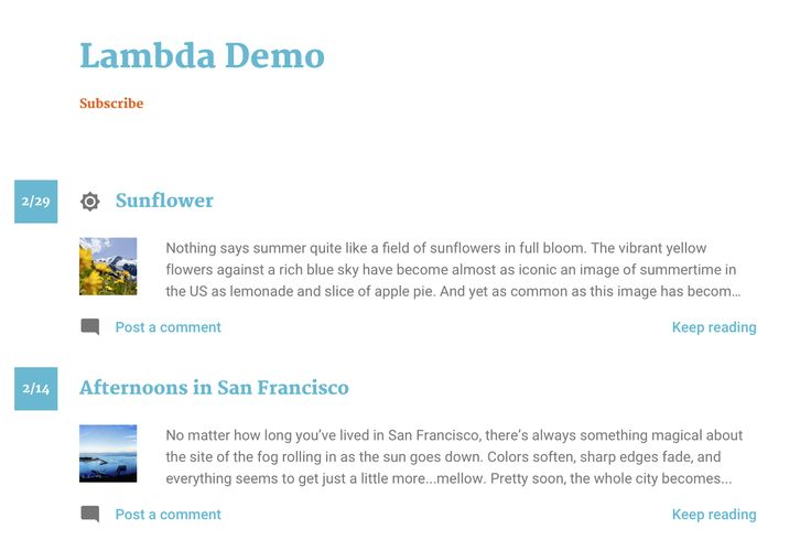 Last May, we added some expressions  to our templating language to make it easier for you to customize your blog's look and feel. These new ...