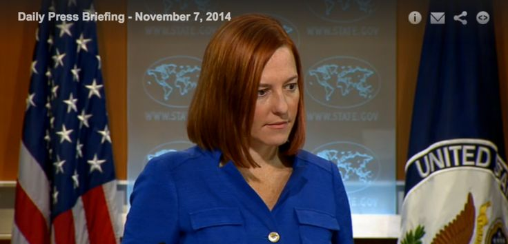 Jen Psaki Still In Denial Over Operation Protective Edge – Watch as military genius Jen Psaki disputes General Dempsey's description of Operation Protective Edge