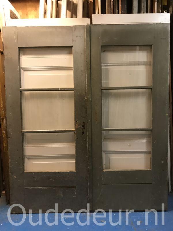 nr. set523 stel industriele glasdeuren