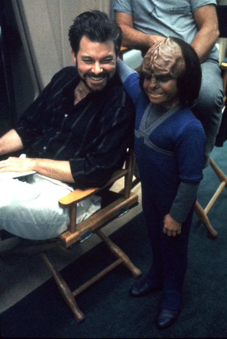 Alexander and director Frakes