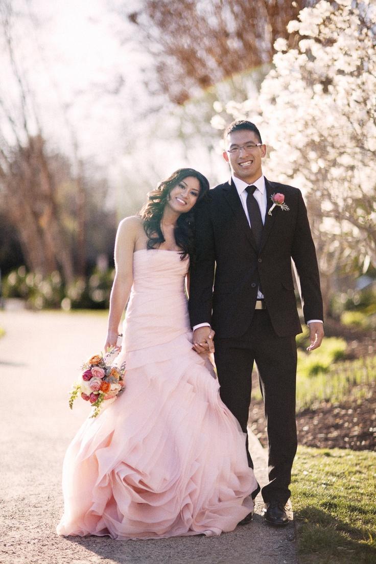 Blush pink vera wang gown wedding ideas pinterest for Pink wedding dress vera wang