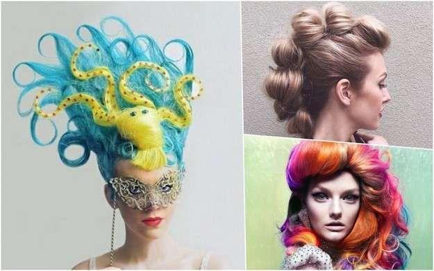 Peinados originales para Carnaval: fotos de los looks