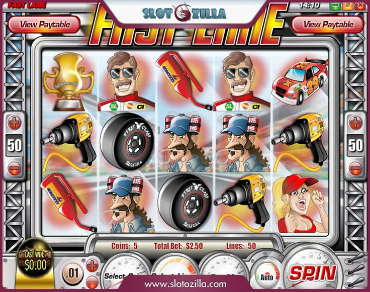 Feel the incredible speed! Play an awesome free slot machine by Rival called 'Fast Lane'. This stunning racing-themed slot boasts lots of excitement and huge winning chances. Do not miss your opportunity to win a racing cup! Play for free at #slotozilla