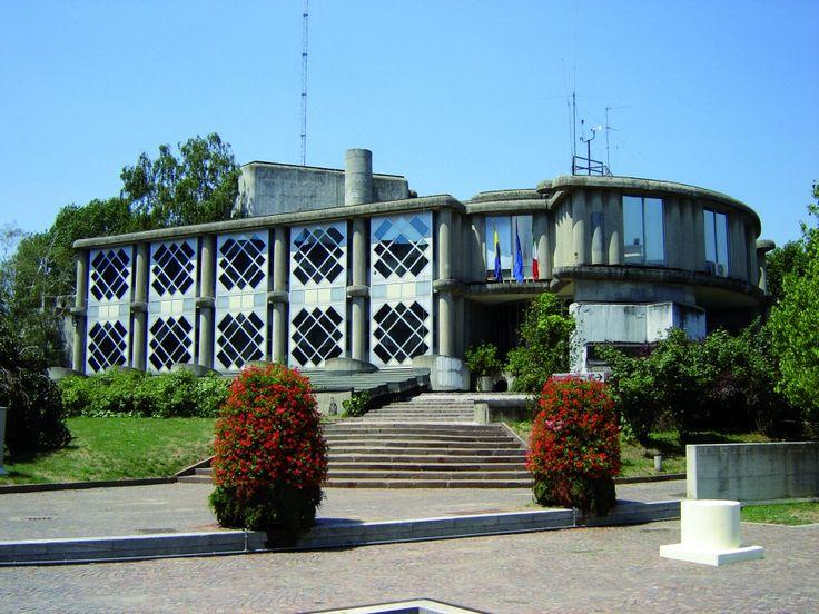 Segrate city hall, Guido Canella/Michele Achilli, 1963