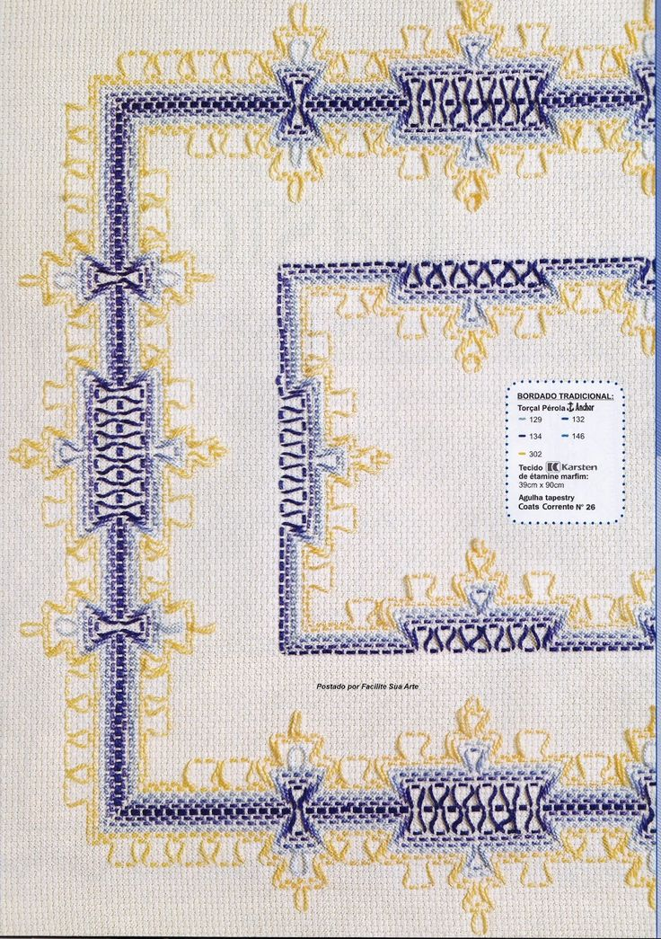 Facilite Sua Arte: Vagonite 11 - Caminho em azul e amarelo